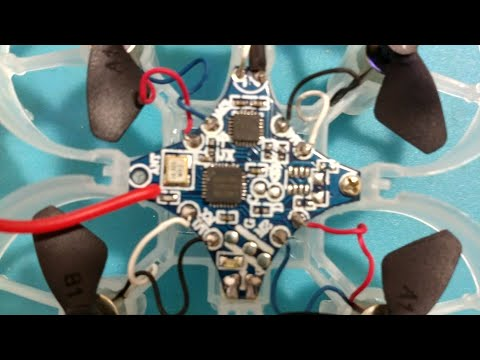 Eachine E012 repair - receiver board replacement
