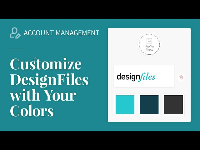 Customize DesignFiles with your colors