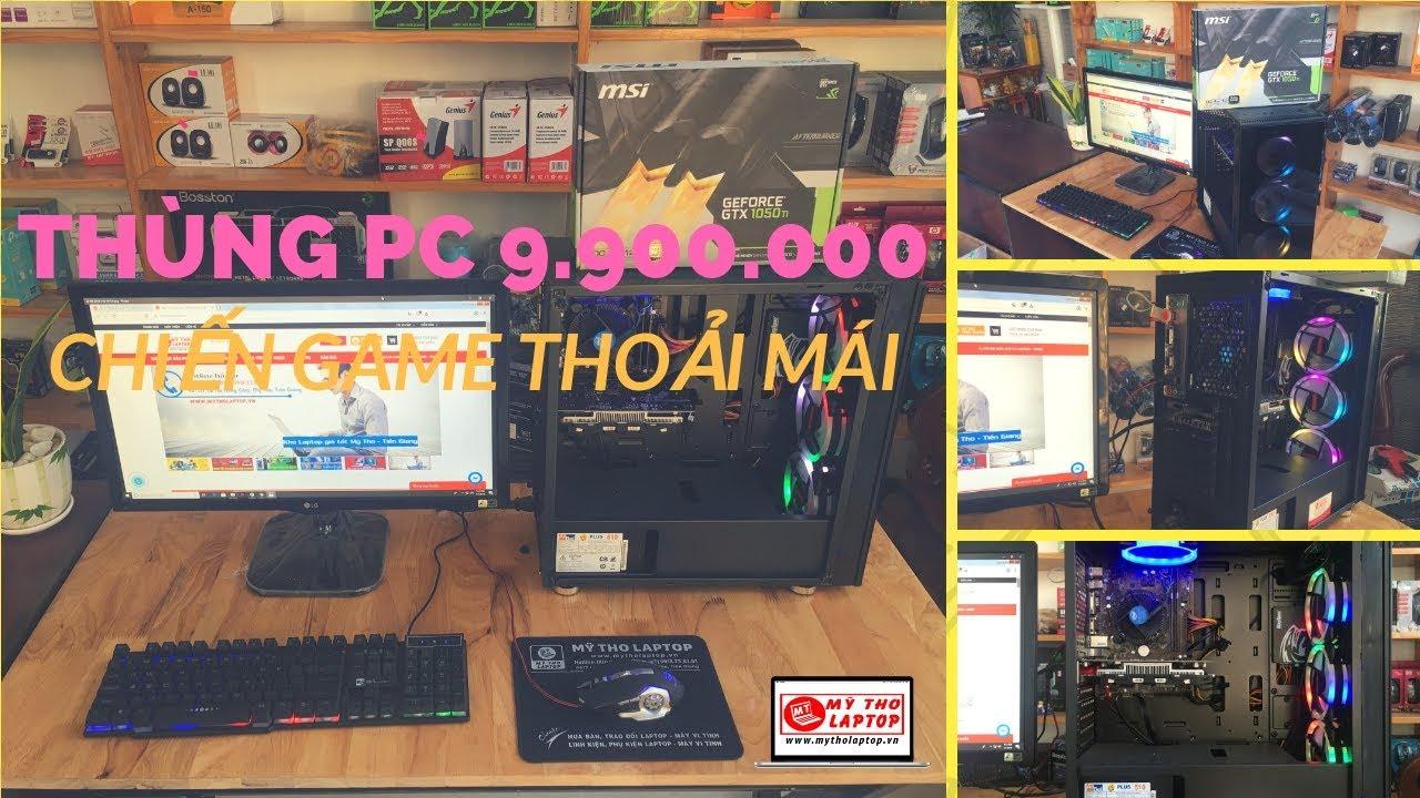 Đánh giá hiệu năng Thùng CPU kính cường lực G4560 - RAM 8GB - SSD 120 GB - VGA GTX 1050TI