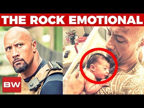 The Rock's Emotional Message about his Newborn Daughter | Dwayne Johnson (видео)