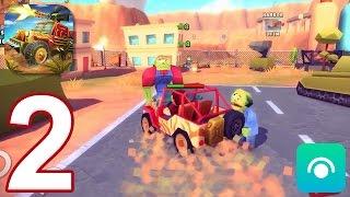 Zombie Safari - Gameplay Walkthrough Part 2 - Canyon (iOS, Android)