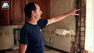 preview picture of video 'Plumbing Repairs - Leaking Pipe through Wall - Sidcup - Greater London'