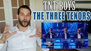 VOCAL COACH reacts to the TNT BOYS singing The THREE TENORS
