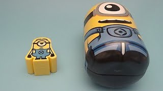 Big Mouth Academy Express!  Learn Opposites with Surprises! Minions! Big and Small!
