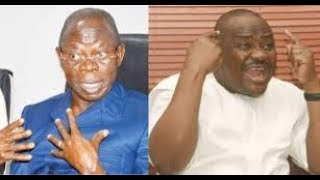 Wike to Oshiomhole : Quit Honourably For Falling to Stop Diri's Inauguration as Bayelsa Governor