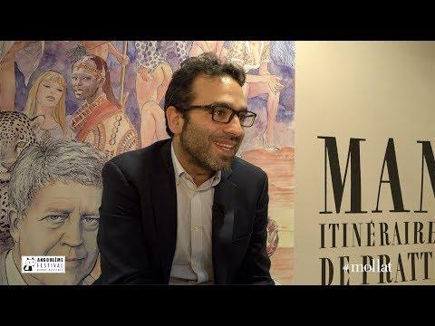 """Romain Brethes présente l'exposition """"Milo Manara, itinéraire d'un maestro de Pratt à Caravage"""""""