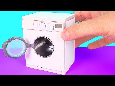 DIY Miniature Washing Machine ~ Mini Washer