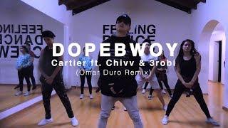 DOPEBWOY   Cartier Ft. Chivv & 3robi (Omar Duro Remix)   Coreografía Kaphar