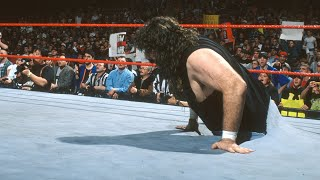 Cactus Jack comes through the ring to even the odds vs. DX: Raw, Feb. 9, 1998