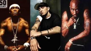 Eminem ft Tupac 50 Cent & Nate Dogg Till I Collapse remix