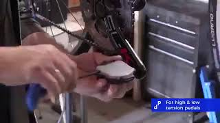 Flat pedal adaptor untuk pedal cleat SPD
