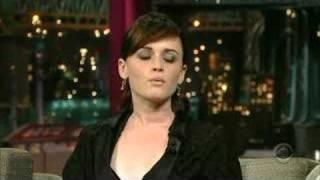 Alexis Bledel On David Letterman 05-25-07