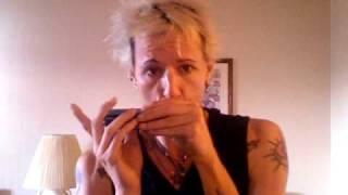 Basic Blues Slide Exercise For Chromatic Harmonica