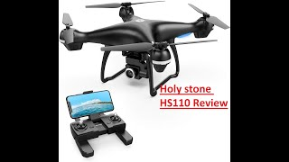 Amazon camera drone Holy Stone HS110D FPV RC Drone HD Camera 2020 Review | Amazon best selling drone