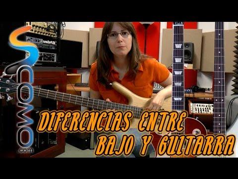 Diferencias entre un bajo y una guitarra - tutorial de bajo eléctrico
