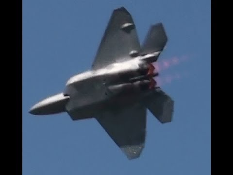 F 22 Raptor With Working After Burners Minecraft Project