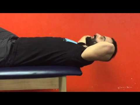 Suspended Neck Flexion