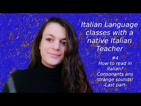 Free italian lessons for beginners #4