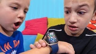 Артур и Давид НЕ ПОДЕЛИЛИ Apple Watch! Что из Этого Вышло!