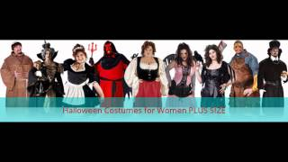 Halloween Costumes For Women PLUS SIZE