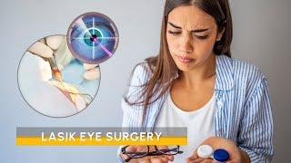 Video Lasik eye surgery