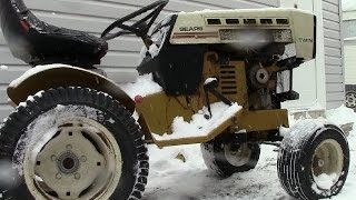 Sears Suburban SS16 Winter Cold Start (16HP Onan Twin Cylinder)