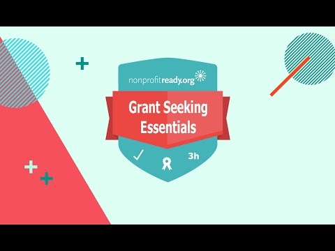 Free Certificate in Grant Seeking - YouTube