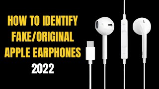 How to Identify FAKE / ORIGINAL Apple Earphones 2021   Latest Hindi Video   How to?