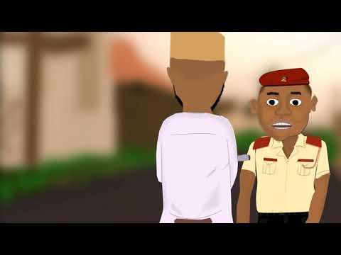 ibro and the lastman (naija police ) akpors cartoon comedy (naija cartoon)