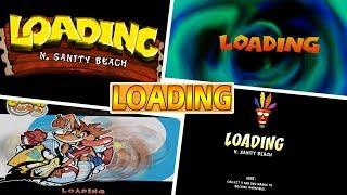 Evolution Of Loading Screens In Crash Bandicoot Games