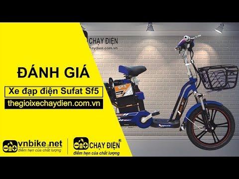 Đánh giá xe đạp điện Sufat SF5