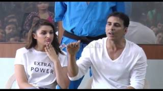 Akshay Kumar & Parineeti Chopra attend The Women's Self Defence Graduation Day