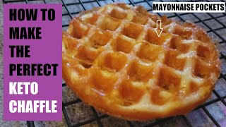 Keto Chaffle : How To Make The Perfect Chaffle