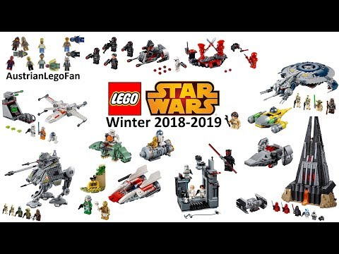 Lego Star Wars 2019 Compilation of all Winter Sets 2018-2019