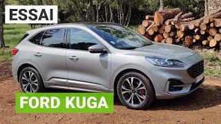 Essai FORD Kuga plug-in hybrid : mais où sont les 225ch de ce SUV hybride rechargeable ?