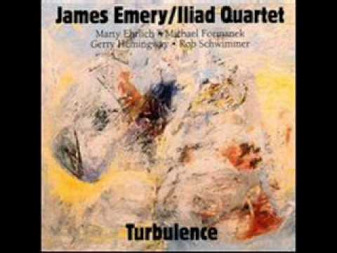 James Emery Iliad Quartet - Smoke Detector online metal music video by JAMES EMERY
