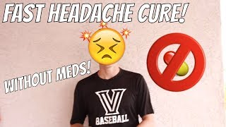 How To Get Rid Of Headaches Fast For Kids WITHOUT Medicine