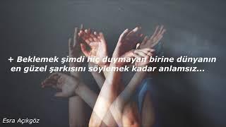 Cem Adrian & Aylin Aslım - Herkes Gider Mi? Lyrics