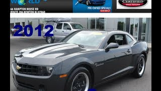 preview picture of video 'Toyota World Of Newton NJ-2012 Camaro- Call 877-857-7952'