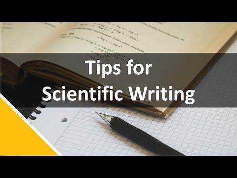 Scientific Writing - Kristin Sainani - YouTube