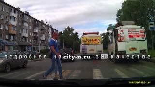 Маршрутки устроили ДТП в Новокузнецке