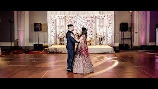 Indian Wedding Reception Highlight Film From The Heart Of California - Hyatt Regency Sacramento