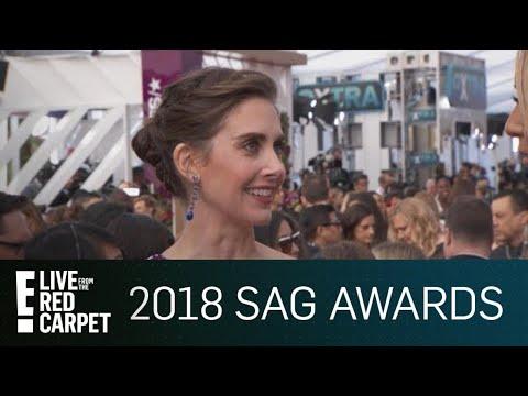 Alison Brie Addresses James Franco Allegations at SAG Awards   E! Live from the Red Carpet