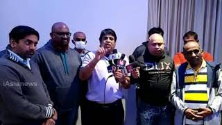 Telangana NRIs from Dallas strongly opposed the behavior of TRS Govt. in Dubbaka.