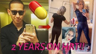 2 Years On HRT!! (MTF Transition) Charolette Saiz