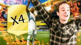 4 WALK OUTS IN A ROW!! WTF!! - FIFA 17 PACK OPENING