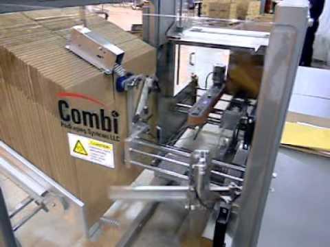Formadora de cajas con sellado de solapas al fondo y vlcd de 10cpm 2-EZ XL