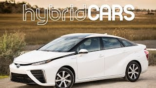 2016 Toyota Mirai Fuel Cell Car First Drive