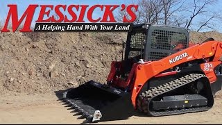 Overview of the Kubota SVL95-2S Compact  Track Loader   Messick's