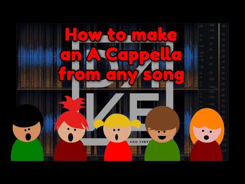 Make Acapellas Using RX 7 - How to Make an Acapella Without